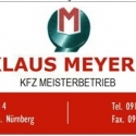 Meyer Klaus KFZ
