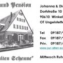 Zur alten Scheune - Cafe
