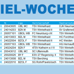 HEIMSPIEL-WOCHENENDE – FESTUNG TSV