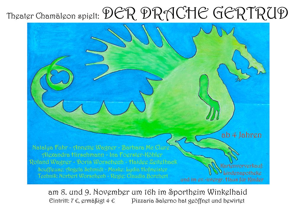 Theater Chamäleon: Der Drache Gertrud