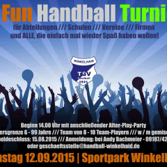 4. FUN HANDBALL TURNIER FÜR JEDERMANN