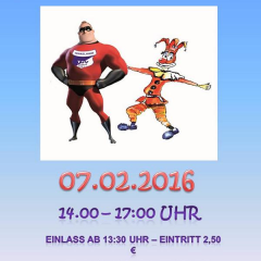 Kinderfasching am 07.02.2016