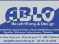 ABLO-Beschriftung