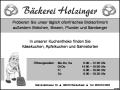 Bäckerei-Holzinger