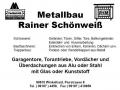 Metallbau-Schönweiß