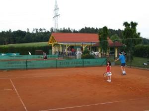 Unsere TSV Tennis Anlage