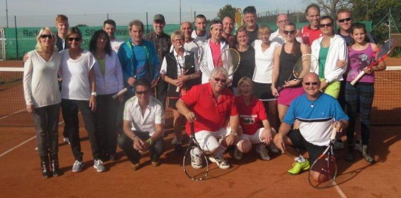 Gruppenfoto Mixed-Turnier 2014
