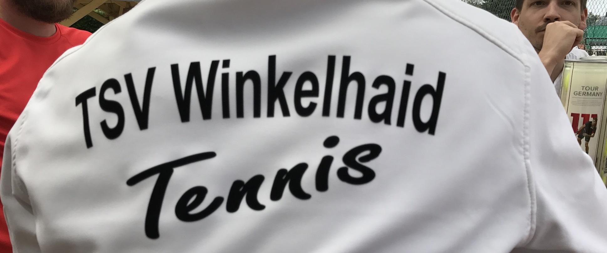 Rücken Tennisjacke