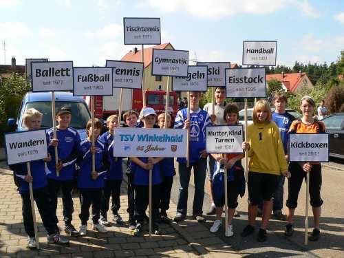 Bürgerfest in Winkelhaid- Fußballer mit Heimspiel