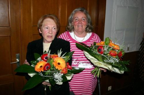TSV Winkelhaid Karin Trautmann und Roswitha Hofecker
