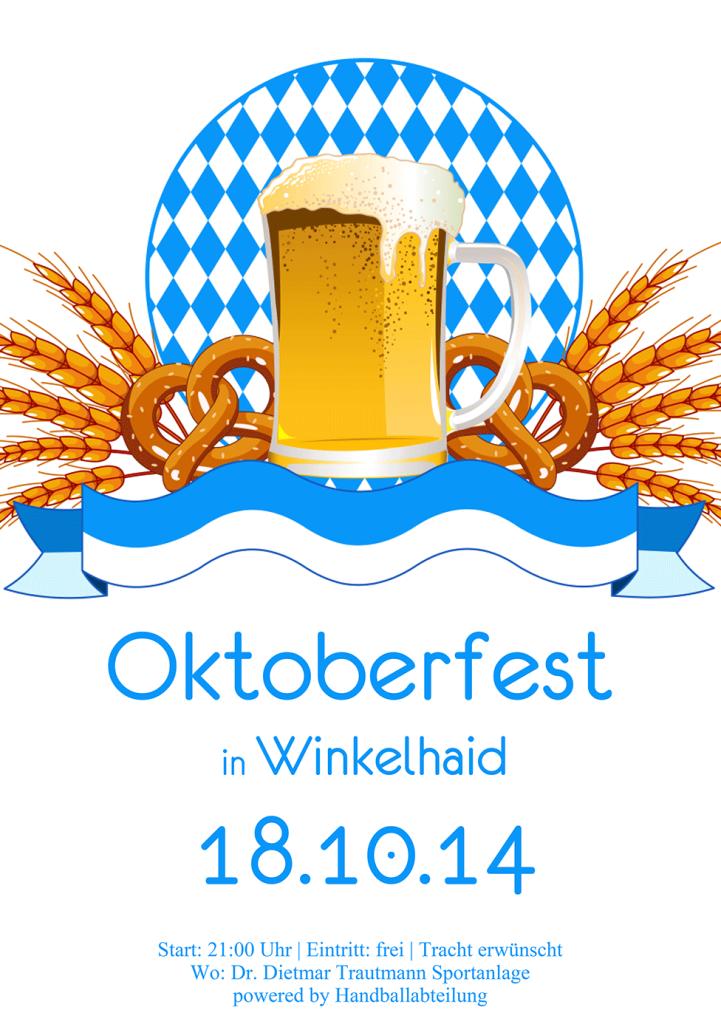 Oktoberfest am 18.10.2014 der Handballer/innen