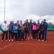 Sieg und Niederlage bei den Tennislern