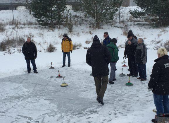 Eisstockschützen mit schwachem Saisonauftakt
